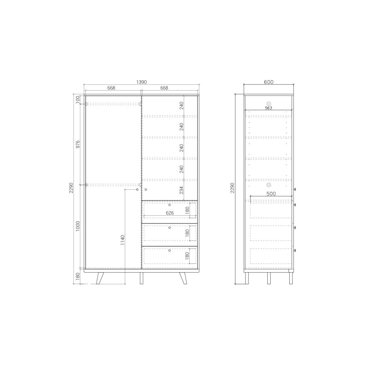 Шкаф  TM222