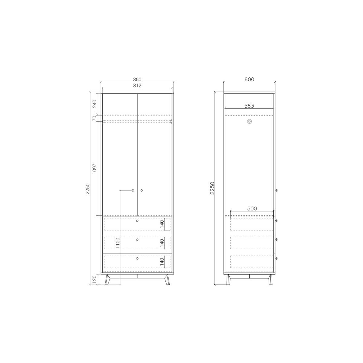 Шкаф  FR208