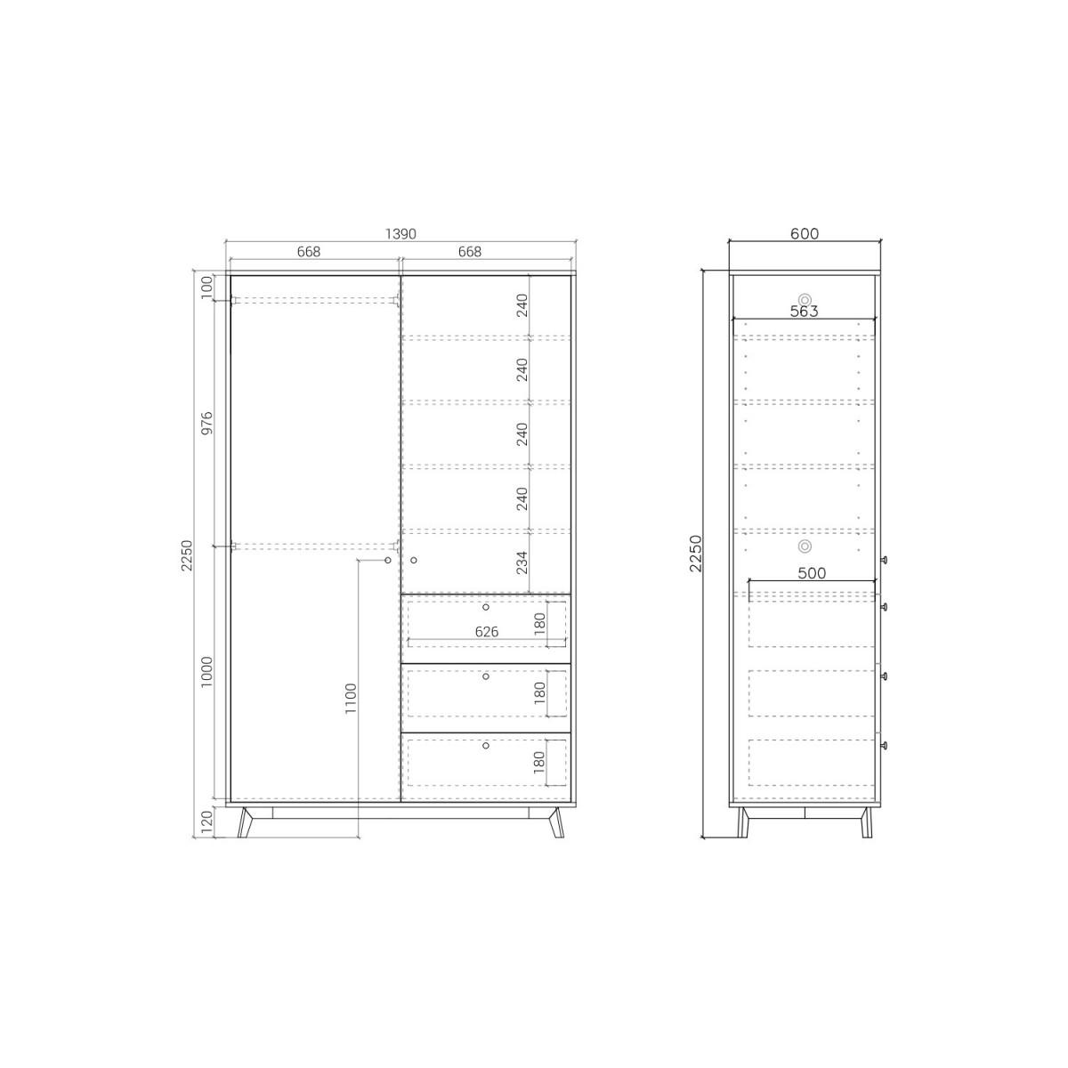 Шкаф  FR222