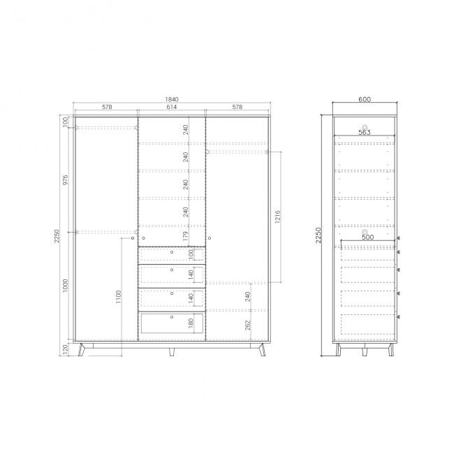Шкаф  FR226