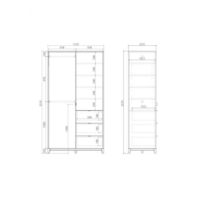 Шкаф CS218