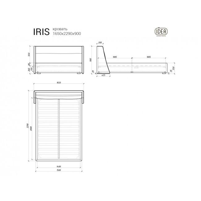 Кровать IRIS 314