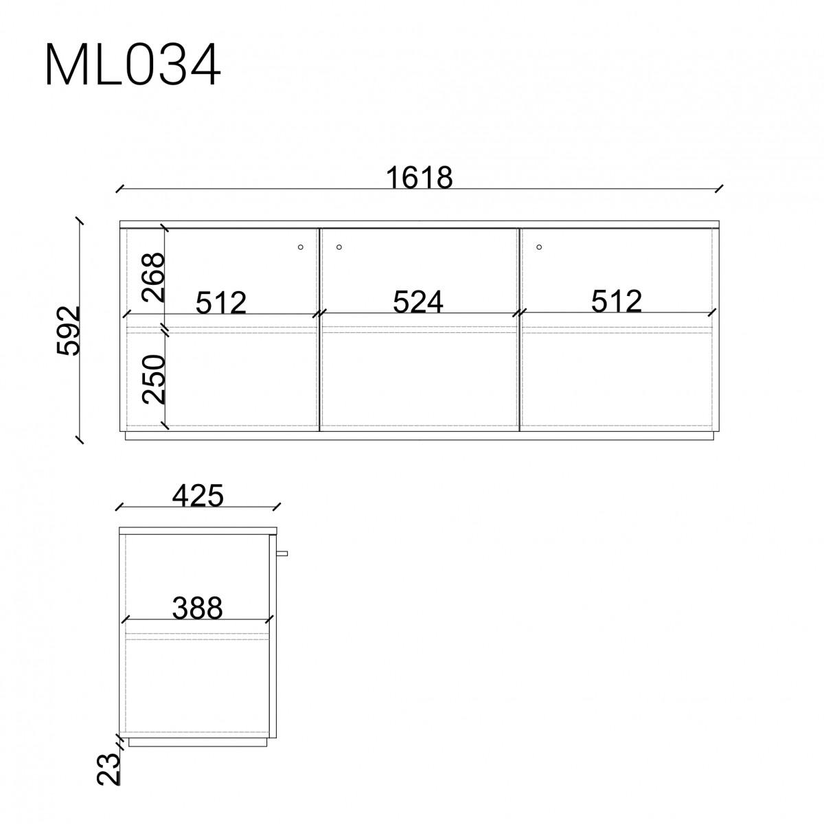 Комод  ML034