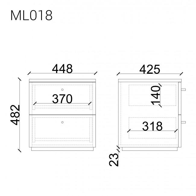 Прикроватная тумба  ML018
