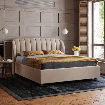 Чтобы организовать приятный вечер иногда можно обойтись малым. Занавесить шторы, укутаться в уютное одеяло, заварить ароматный чай и устроиться в удобной кровати, посмотреть любимый или почитать книгу. 📖  На кровати TULIP такие вечера становятся еще приятнее. На мягкое изголовье можно удобно опереться и не придется подкладывать подушки. Все лишнее можно спрятать прямо в кровать - в новых моделях предусмотрено место для хранения. Выверенные пропорции, плавные линии и элегантные формы  создают притягательный облик этой кровати.  В ней продумана каждая деталь, чтобы эта модель стала настоящим украшением спальни. Цвет ткани и тонировку березы можно выбрать к своему интерьеру. Доступная ширина спального места 140 / 160 / 180 / 220 см - можете выбрать любые, подходящие вам габариты. ■ ■ ■ ■ ■  Стоимость зависит от габаритов, посмотреть все доступные варианты можно на нашем сайте, ссылка в сторис и в описнии профиля⤴️