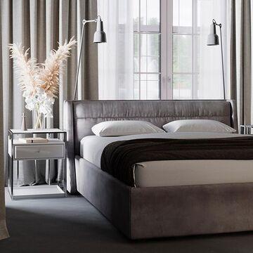 Разрабатывая кровать IRIS мы предусмотрели модели с подъемным механизмом. Она не просто красивая и удобная, но еще и функциональная - в ней удобно хранить постельные принадлежности. Какие кровати выбираете вы? Важно ли для вас наличие места для хранения или вы ориентируетесь на  дизайн и удобство? Кровать IRIS доступна в 4 размерах и с двумя вариантами дизайна изголовья. Ткань и тонировку берёзы вы выбираете сами. Стоимость и другие варианты оформления можно посмотреть на нашем сайте, ссылка в сторис⤴️