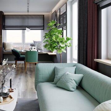 Гостиную невозможно представить без вместительного дивана для всей семьи. В проекте студии @design.silk представлен модульный диван CASE в оригинальном ментоловом оттенке.   ✔Если хотите, чтобы мы разместили ваш проект с нашей мебелью, отмечайте @the_idea в своём посте и ставьте хэштег #theidea. Мы отберем лучшие работы и расскажем о вас в своем аккаунте.  #theidea #купитьдиван #гостиная #дизайнгостиной #интерьергостиной #стильныйинтерьер #идеиинтерьера #минимализм #фабрикамебели #производствомебели #дизайнермск #дизайнер