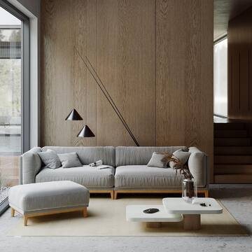 Скандинавский минимализм — стиль, который никогда не выйдет из моды. Сдержанный и в то же время уютный, такой интерьер всегда будет актуален. Мы подготовили для вас несколько советов, как оформить гостиную в скандинавском стиле.  ❓Какой выбрать диван❓ 👉🏻Выбирайте удобный и вместительный диван с простыми, лаконичными формами и строгими линиями.  Диван CASE прекрасно подходит для подобных пространств. Кроме того, вы можете увеличить количество посадочных мест с помощью дополнительных модулей. Стильный и современный дизайн, удобная глубокая посадка, качественное наполнение подушек, которое легко восстанавливает форму, сменные чехлы, основание и ножки, выполненные из натурального дуба - важные факторы, которые, несомненно, являются преимуществами дивана CASE.  ❓Какой цвет выбрать для гостиной❓ 👉🏻Скандинавский стиль — это не обязательно выбеленные стены. Белый цвет по-прежнему не теряет свою популярность, но в последние годы сканди трансформируется и смещается в сторону нейтральных природных оттенков, материалов и текстур. Сейчас все чаще вы можете встретить пастельные солнечные оттенки, небесные или мятные.  В подобных интерьерах всегда минимум мебели. Нет кричащих акцентов, которые перетягивают внимание на себя. Каждый предмет мебели в унисон совпадает с общей концепцией и деликатно дополняет ее.  ❓Какой декор выбрать для скандинавского интерьера❓ 👉🏻Избегайте излишеств и перегруженности. Здесь будет уместна фраза «Лучше меньше, да лучше». Выбирая такой декор, как светильник или журнальный столик, обращайте внимание насколько он гармонично сочетается с общей стилистикой.