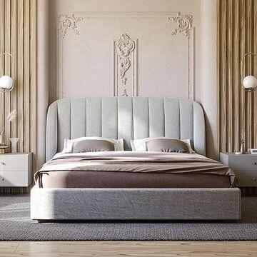 Есть множество способов обустроить спальню, но только кровать отвечает за ваш здоровый и спокойный сон 💤 . Какой должна быть ваша идеальная 🛏 ? Выберите подходящий вам вариант/ы и напишите соответствующую цифру в комментарии. А если подходящего варианта нет - напишите свой) Будем очень благодарны за ваше мнение! ♥️ 1. Современной и стильной 2. Прежде всего - комфортной, чтобы было удобно спать и смотреть любимые фильмы 3. Недорогой 4. Из натуральных материалов 5. Прочной, из качественных материалов 6. Главное, чтобы ее не пришлось долго ждать 7. Чтобы идеально подходила к интерьеру 8. Яркая, впечатляющая 9. В нужных габаритах 10. Функциональная: чтобы можно было использовать как ящик для постельного белья и принадлежностей  На фото кровать TULIP с элегантным изголовьем и заметным радиусом загнутых боковых панелей. Глубокая стяжка ткани мягкого изголовья выглядит эффектно в любом цвете, добавляя образу кровати объем и изысканность. Кровать доступна в 4 размерах. Цвет и категорию ткани, как и тонировку березы вы выбираете сами
