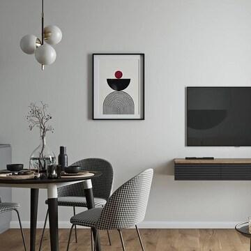 Подвесная консоль HR2 из коллекции CODE в проекте кухни-гостиной  @design.812 и @viz_team   Серия CODE — симбиоз современных дизайнерских тенденций, функциональности и минимализма. Строгие линии, целостность и лаконичность легли в основу концепции.  В коллекции представлена мебель разных габаритов, начиная от прикроватных тумб, заканчивая комодами. Вы можете выбрать предмет мебели на цоколе, который будет более основательным или с подвесным креплением, словно парящим в воздухе.