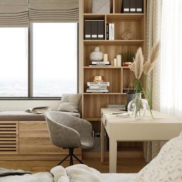 Как в небольшой комнате организовать не только место для отдыха, но и рабочую зону? Листайте фото уютного и такого светлого проекта @atmosphera_interiors и вдохновляйтесь!   На фото: рабочий стол CASE, который удачно разместили вблизи двух окон, чтобы максимально эффективно использовать естественный дневной свет.   Если вы хотите, чтобы мы рассказали и о вашем проекте с мебелью THE IDEA, тогда размещайте фото в соц сетях, отмечайте наш аккаунт @the_idea   #theidea #мебельназаказ #фабрикамебели #производствомебели #спальня #интерьерспальни #дизайнспальни #светлаяспальня #стол #рабочийстол #кабинет #спальняминимализм #сканди