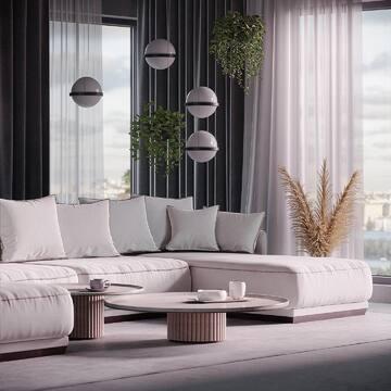 Диван SOHO: какой цвет выберете вы – белый, бирюзовый или розовый?  👉🏻Напоминаем, что до 30 апреля у нас будет повышение цен на мягкую мебель и вы ещё можете успеть купить её по старой цене.  Модульный диван SOHO — украшение любого премиум-интерьера и лануж-зоны. Такая красота должна быть в центре внимания и комнаты, поэтому диван не имеет обратной стороны. Удобные и глубокие нижние подушки, на которых тело полностью расслабляется, основательный цоколь и прочный каркас из массива березы — это ли не идеальный диван?  Хотите заказать или узнать детали? Пишите нам в WhatsApp (ссылка в профиле).  #фабрикамебели #фабрикамебелиспб #мягкаямебель #дизайнеринтерьера #дизайнинтерьера #интерьерспб #дизайнгостиной #дизайндома